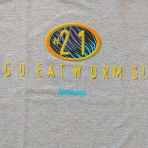 Vintage Goosebumps Go Eat Worms Single Stitch Tee